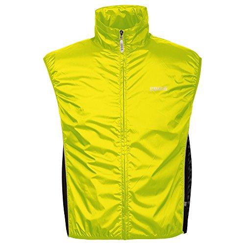 PRO-X elements - Gilet da ciclismo da uomo, Uomo, Gilet, 6170, giallo fluo, XL