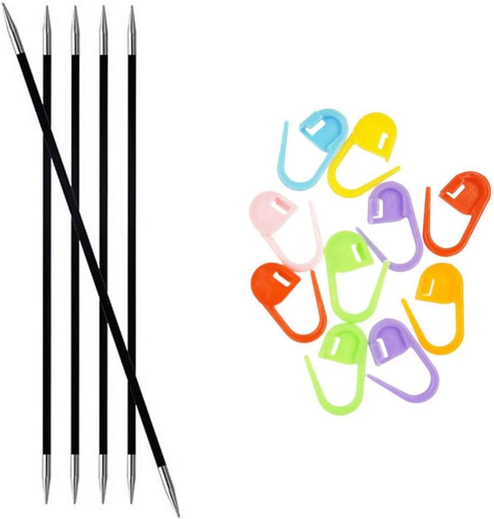Knitter's Houston Recommended Mall Pride Knitting Needles Karbonz Pointed in 6 DPN Double
