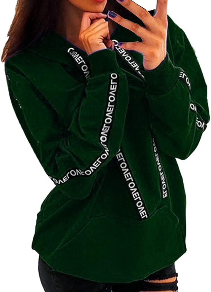 Women Oversize Drawstring Hoodie Long outlet Sleeve Crop Pullover Max 67% OFF Solid