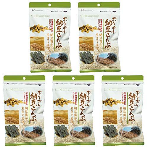 【年度末決算セール】ソーキ ポリポリ納豆こんぶ 85g×5袋セット【10/6(水)13:00まで】
