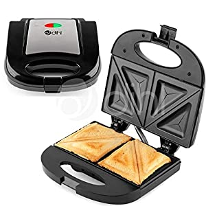 Dihl – Double Sandwich Toastie Maker Grill Toaster Cool Touch Press