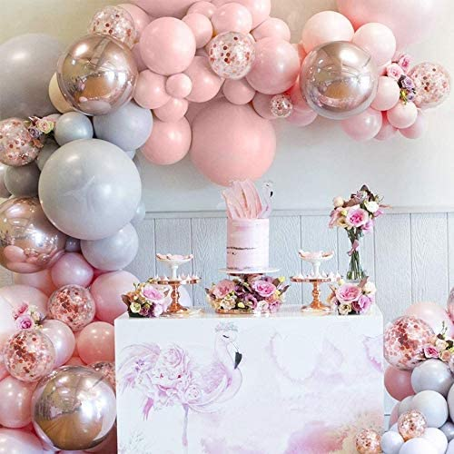 Balloon Garland Arch Kit Comes With A Balloon Pump 167 Pcs 5 To 18 Inches Macaron Colorful Thicken product image