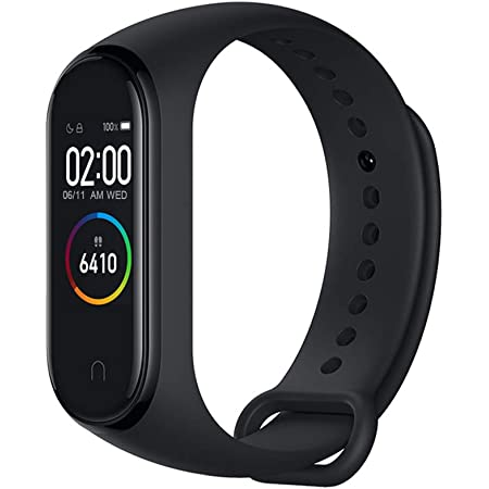 Edwaybuy Xiaomi Mi band 4 2019最新Xiaomi シャオミ スマートブレスレット 活動量計 万歩計心拍計 腕時計 健康管理睡眠モニター防塵防水着信通知スマートウォッチスポーツブレスレット歩数計一年間保証