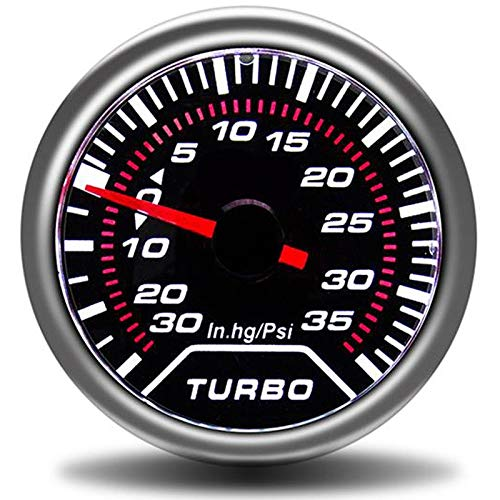 No-branded Odometer Spur 52mm Tachometer Autoladedruckanzeige Bar PSI Abgas Temp Wassertemperatur Öltemperatur Ölpresse Air Fuel Gauge ZHQHYQHHX (Color : Boost Gauge PSI, Size : Kostenlos)