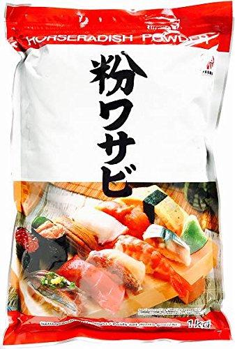 Daruma - Polvere di Wasabi Gourmet - Ideale per accompagnare il Sushi più gustoso -1000 gr