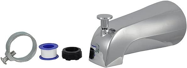 DANCO (88703) Tub Spout with Diverter, Chrome Finish, 1-Pack