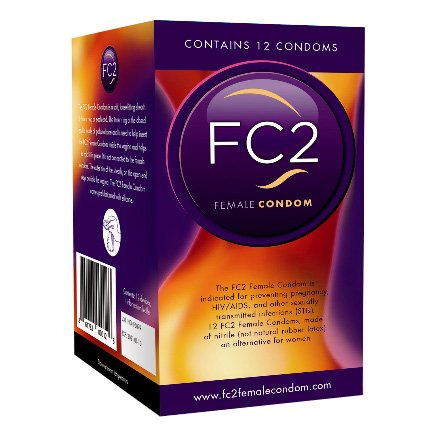FC2 Female Condoms 12 Count