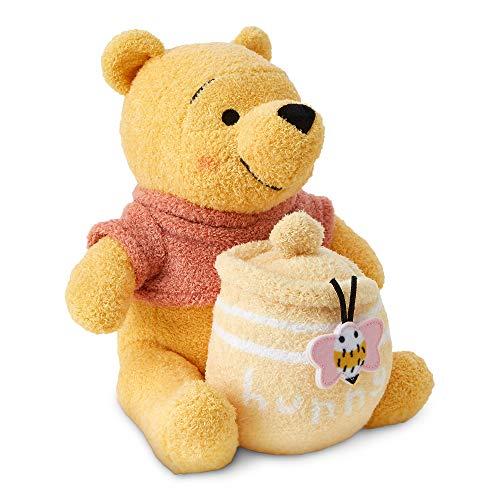 Disney Winnie The Pooh with Hunny Jar Plush for Baby Multi