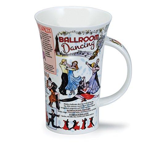 BALLROOM Dancing Dunoon Fine Bone China Tasse?Made in England
