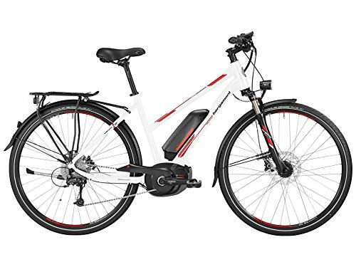 Bergamont E-Line C Deore Performance 400 Bosch Damen Pedelec Elektro Fahrrad weiß/rot/grau 2016: Größe: 56cm (177-184cm)