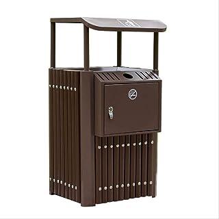 Bacs à Ordures Extérieurs Poubelles extérieures en acier inoxydable résistant à la rouille durable poubelles poubelles for...
