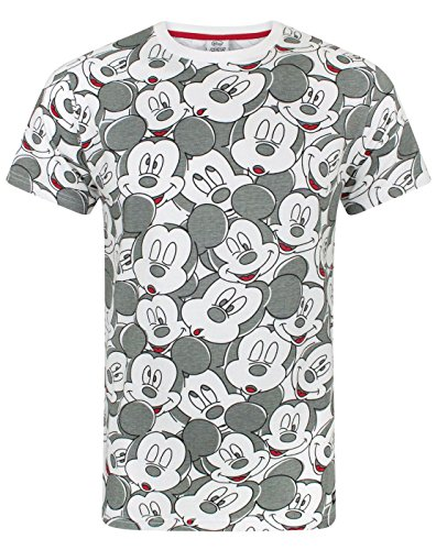 Mickey Mouse Disney Gesicht All Over Print Herren T-Shirt