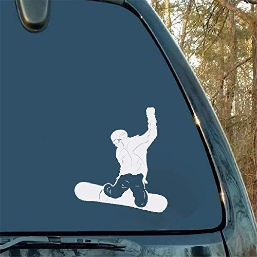 Mode Persoonlijkheid Auto Styling Snowboard Motorfiets Bumper Auto Raam Laptop Auto Stickers Accessoires voor Auto Laptop Window Sticker