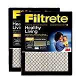 Filtrete MPR 2800 16x20x1 AC Furnace Air Filter, Healthy Living Ultrafine Particle Reduction, 2-Pack