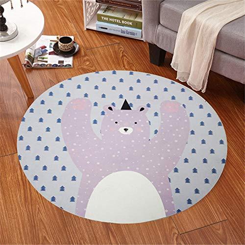 Towells badmat eenvoudige IKEA ronde carpet hanging computer stoel mat vloermat