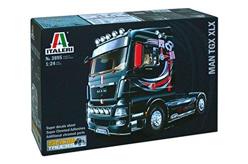 Italeri 510003895 - 1:24 MAN TGX XLX Lastkraftwagen