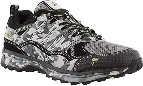 Fila Men's, Evergrand TR Trail Running Sneakers Black/White