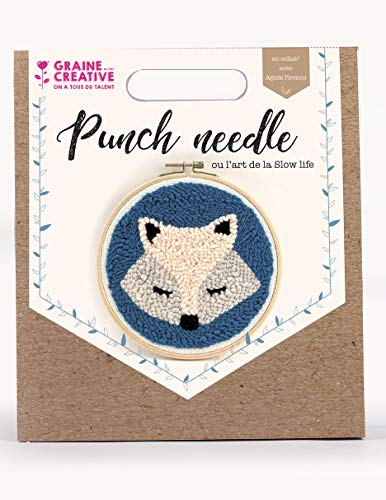 Kit Punch needle Ø 20 cm - Zorro