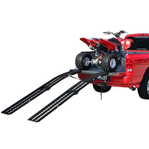 Black Widow BW-10812-2 Aluminum 9' Folding ATV Ramps