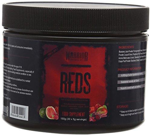 Warrior Reds Super Food Supplement Powder, Watermelon, 30 Servings