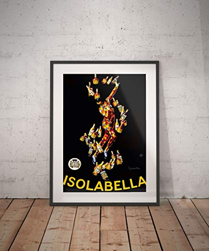 Rac76yd isolabella poster vintage vintage poster drank dranken aperitieven alcholische reclame muur decor