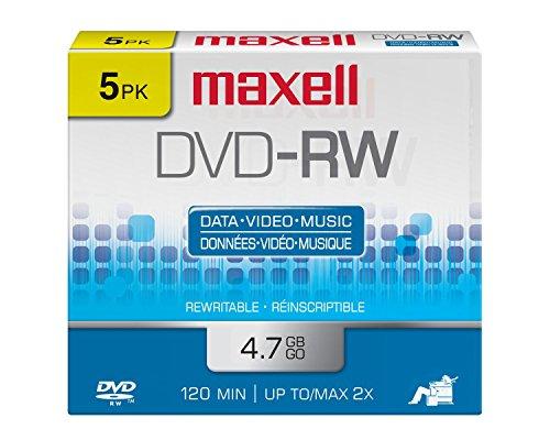 Maxell 635125 DVD-RW Disc
