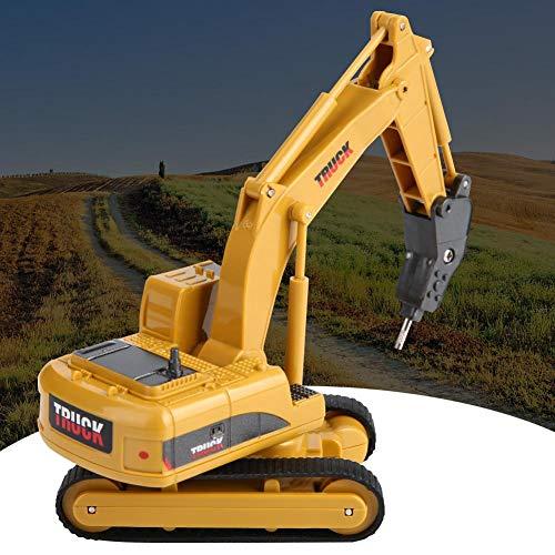 RC Kettenfahrzeug kaufen Kettenfahrzeug Bild 1: Fernbedienung Bagger, Fernbedienung Bagger Truck Mini Digger RC Engineering Auto Baufahrzeug Spielzeug Geschenk für Kinder( 2 #)*