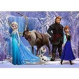 Background Backdrop 1st Birthday 7x5 Ice Wonderland Princess Anna and Elsa Baby Shower Backdrops for Girl Custom Cartoon Photo Backgrounds Dessert Tabletop Decor