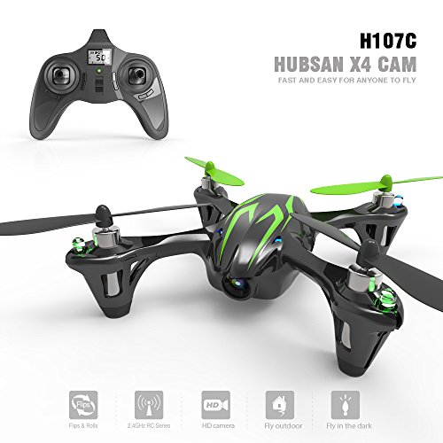 Hubsan X4 Cemare H107C LED Mini QuadCopter...