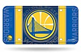 Rico Industries NBA Golden State Warriors Metal License Plate Tag, 6' x 12', Multicolor