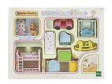 シルバニアファミリー ルームセット にこにこ赤ちゃん家具セット W10.7xD4.4xH7.3cm セ-193