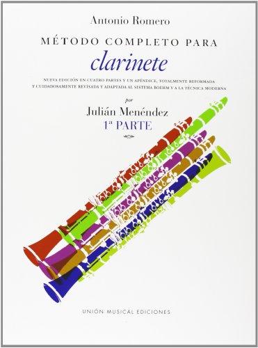 A. Romero: Metodo competo para clarinete parte 1. Para clarinete