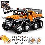 LYCH Technik Offroader 8x8 Ferngesteuert, Mould King Avtoros Shaman ATV 13088, Technik Geländewagen mit Fernbedienung und Motoren, Auto Bauset Kompatibel mit Lego Technic - 2578pcs