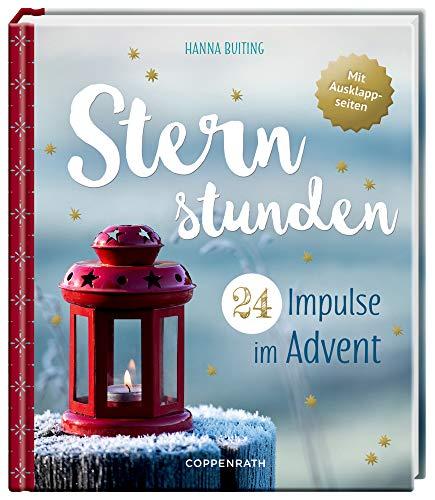 Adventskalenderbuch - Sternstunden: 24 Impulse im Advent - Mit Ausklappseiten