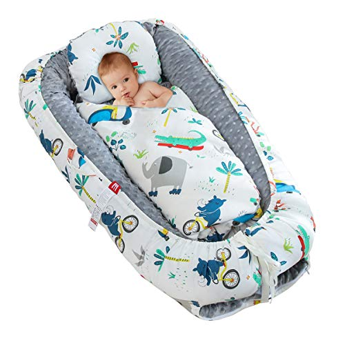 Portable Baby Nursing Pad Easy to Remove for Newborn 0-8 Months vocheer Folding Baby Bed Mattress