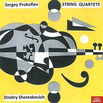 Prokofiev, Schostakovich: String Quartets