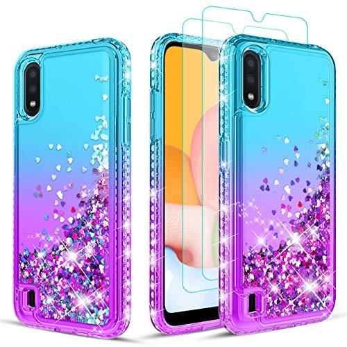 Samsung Galaxy A01 Glitter Diamond Case by Wallme