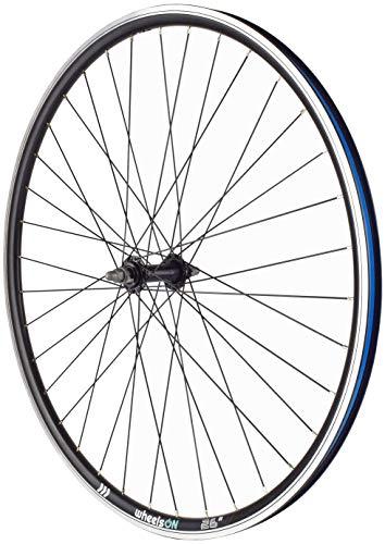 wheelsON 26 inch Front Wheel Hybrid/Mountain Bike Rim-Brake 36H Black