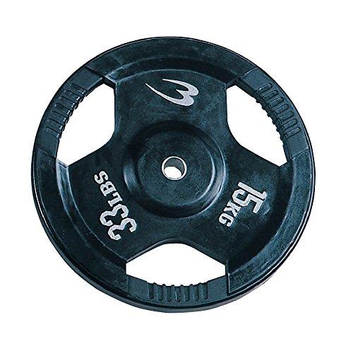 ボディメーカー(BODYMAKER) ラバープレート 15KG PR0031500 筋トレ 筋肉 ダンベル ベンチプレス 大胸筋 エクササイズ プレート バーベル ウエイトトレーニング 鉄アレイ トレーニングジム 上腕筋 筋力 ダンベルプレート バーベル