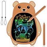 Vanhao 8.5' LCD Bear Writing Tablet, Magnetic Kids Drawing Pad Colorful Screen Doodle Board, Educational and Learning Toys for 3 4 5 6 7 Years Old Boys Girls