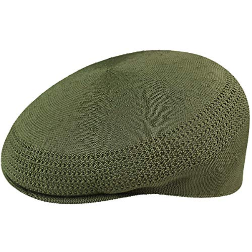 Kangol Headwear Tropic Ventair 504 Casquette Plate, Vert (Army Green), Medium (Taille Fabricant:M) Homme