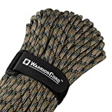 Titan WarriorCord | Woodland Forest-CAMO | 103 Continuous FEET | Exceeds Authentic MIL-C-5040, Type III 550...