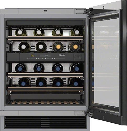 Miele KWT 6322 UG Incasso Cantinetta vino con compressore Nero 34bottiglia/bottiglie A cantina vino