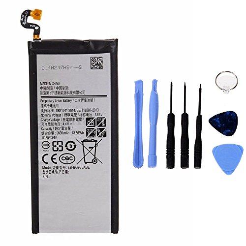 Batería genérica de Alta Capacidad 3600 mAh Compatible con Samsung Galaxy S7 Edge G935F con Kit de Herramientas Incluido