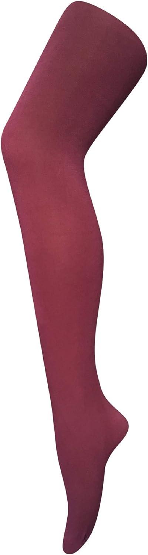 Pamela Mann 80 Denier Opaque Tights Burgundy 16-18 XL