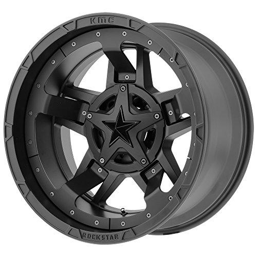 XD Series XD827 Rockstar 3 18x95x4.5'/5x5' +0mm Matte Black Wheel Rim