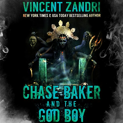 Chase Baker and the God Boy audiobook cover art