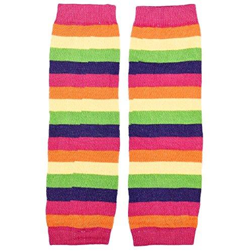 Malloom® 2015 chaussettes bébé fille arc de genouillères jambière (Rose vif)