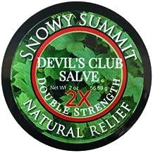 DOUBLE STRENGTH Devil's Club Salve, Snowy Summit, Double Devil, Salve, Pain Relief, Natural Relief, Devil's Club, All Natural, Herbal Salve, Alaska Devil's Club Salve …
