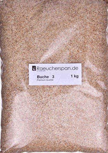 Räucherspäne Buche 3000g Wacholder Mehl//Späne 1,0-2,5mm Fisch Räuchermehl